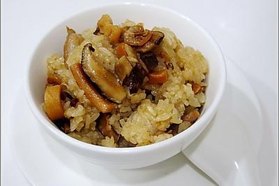 糯米油饭-台湾美食小吃