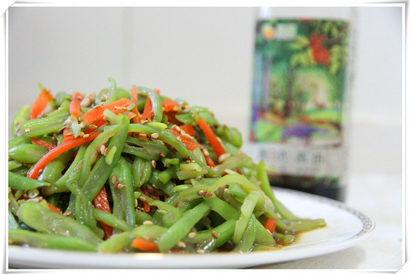 芝香四季豆#豆果菁选酱油试用#的做法