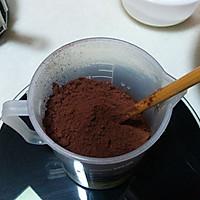 可可海绵蛋糕#长帝烘焙节华北赛区#的做法图解2