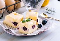 蓝莓酸奶蒸蛋糕的做法