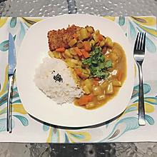 咖喱猪排饭