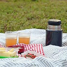西柚冰红茶&绿豆百合汤#膳魔师美味出游季#