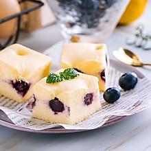 蓝莓酸奶蒸蛋糕