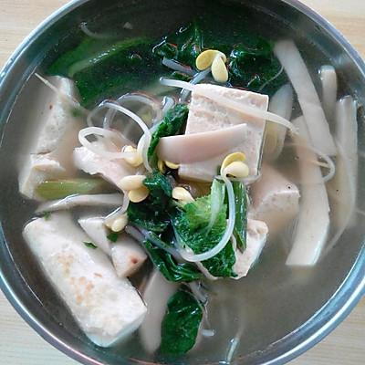 青菜豆腐减肥汤