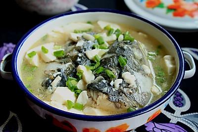 豆腐青鱼汤