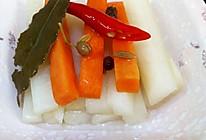 腌酸萝卜条的做法