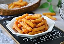 #憋在家里吃什么#酥脆可口,越吃越香的江米条的做法