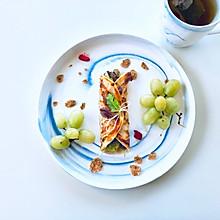 葱油饼的早餐#中式减脂餐#