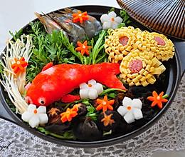 日式萝卜泥锦鲤火锅#KitchenAid的美食故事#的做法