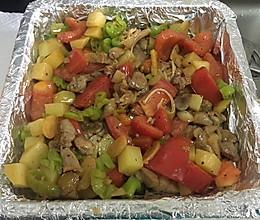 番茄土豆烤鸡腿的做法