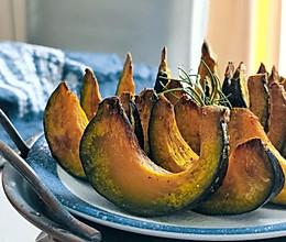 粉糯的空气炸锅烤贝贝南瓜的做法