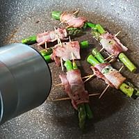 香煎培根芦笋卷的做法图解12
