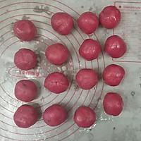 火龙果藜麦蔓越莓冰皮月饼的做法图解23
