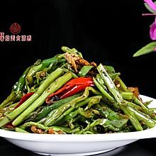 超级下饭快手菜【豆豉青椒空心菜】