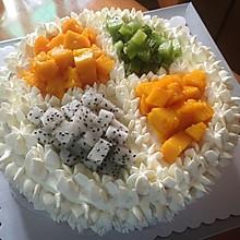 水果裱花蛋糕