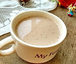 #洗手作羹汤#燕麦核桃红枣豆浆的做法