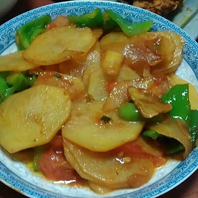 家常酸辣土豆片