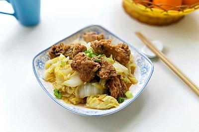白菜炖鱼块