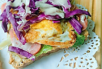 健康早餐五分钟三明治的做法