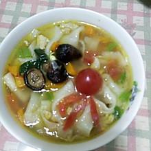 金瓜揪片汤