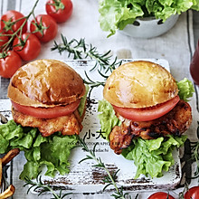 #精品菜谱挑战赛#奥尔良烤鸡腿堡