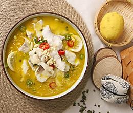 如果有什么可以让我吃三碗饭,那一定是这碗金汤柠香藤椒鱼!的做法