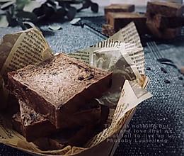 #入秋滋补正当时#超软巧克力小吐司的做法