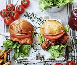 #精品菜谱挑战赛#奥尔良烤鸡腿堡的做法