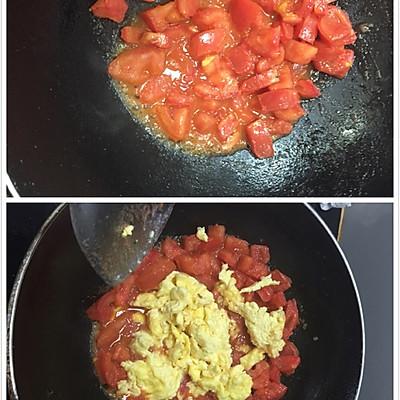 鸡蛋炒柿子的做法 步骤3