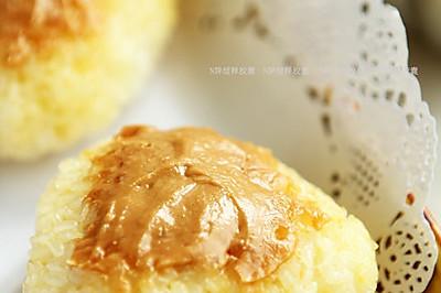 花生酱烤饭团