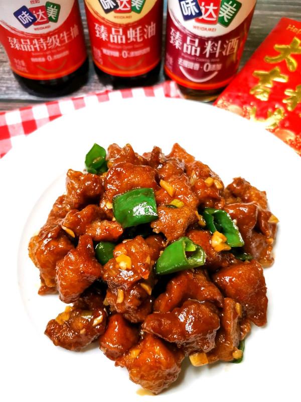 年夜饭菜单——东北溜肉段的做法