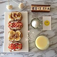 水果酸奶开放式三明治的做法图解9