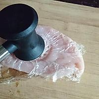 嫩煎鸡胸肉,健身减脂必备的做法图解3
