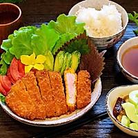 日式炸猪排配田园沙拉的做法图解14
