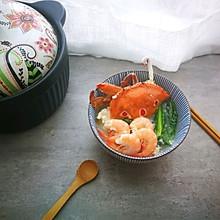 奇鲜无比的潮汕海鲜砂锅粥