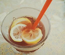 自制酸甜可口的柠檬饮料 为减脂而制的做法