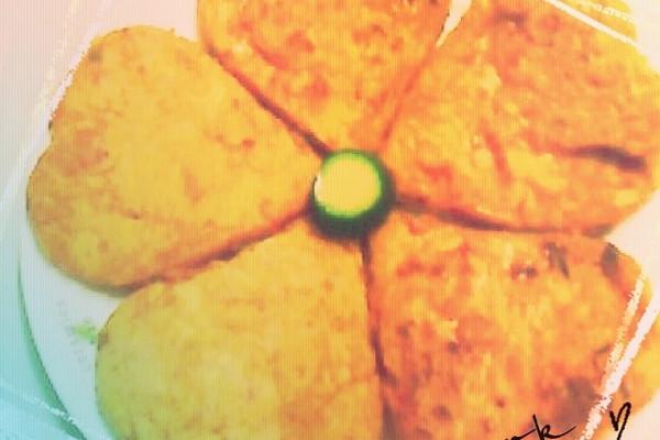 简易版泡菜饼的做法