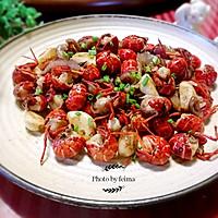 椒盐小龙虾球(少油版)