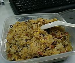 咸菜炒饭的做法