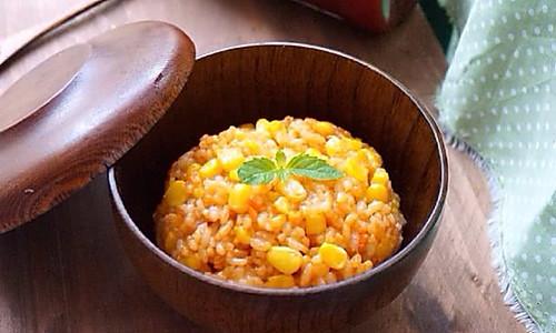 奶酪炒饭——番茄味pk原味的做法
