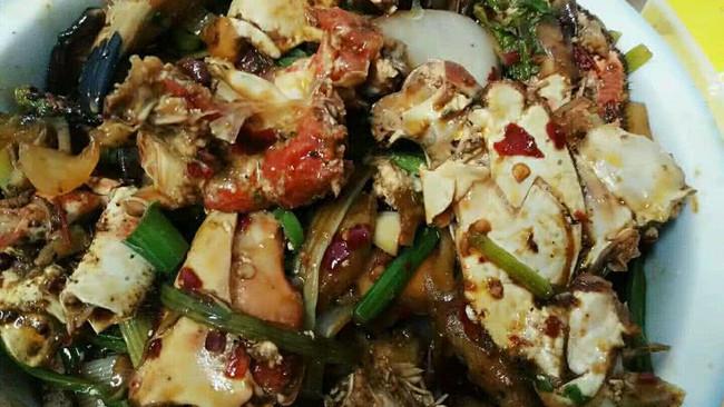 干锅面包蟹的做法