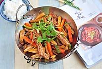 干锅酱鸭#食光社干锅鸭#的做法