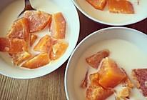 木瓜蜂蜜炖奶的做法
