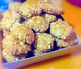 燕麦花生酥(低脂健康超酥版~)的做法