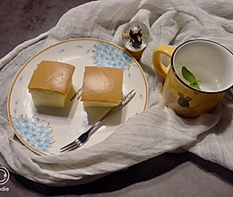 古早蛋糕低糖版(抖臀蛋糕)的做法