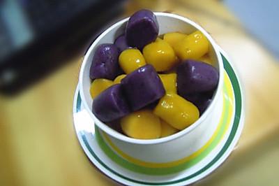 双薯南瓜芋圆