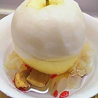 桂花木耳炖整梨的做法图解4