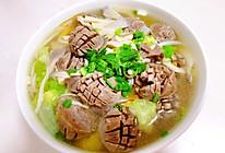 袖珍菇牛丸汤的做法