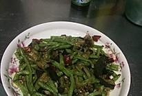 蚝油茄条豇豆的做法