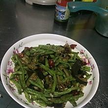 蚝油茄条豇豆